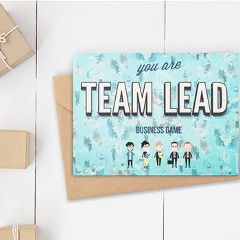 Ситуационное лидерство настольная игра Team Lead
